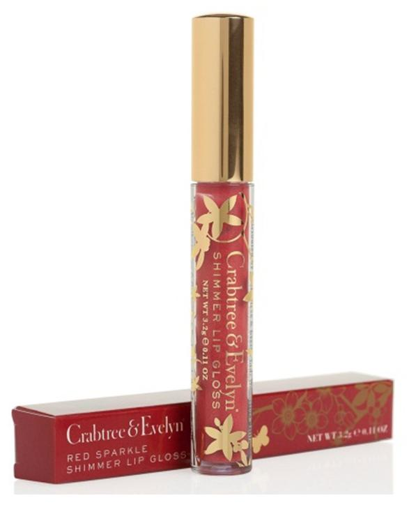 Lip Gloss Red Sparkle