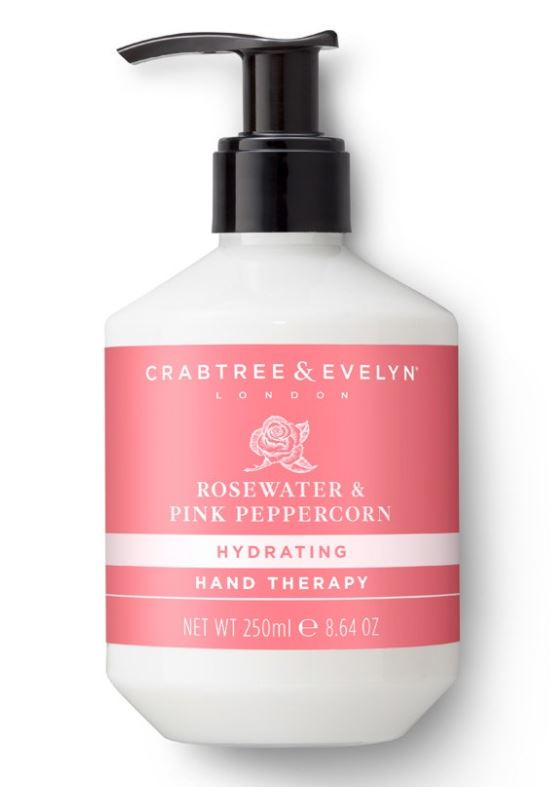 Crabtree & Evelyn Rosewater & Pink Peppercorn Hand Therapy 250 g